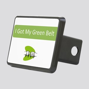 I Got my Green Belt Hitch Cover