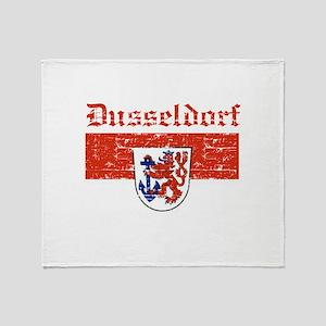 Dusseldorf flag designs Throw Blanket