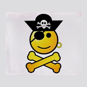 Pirate Day Throw Blanket