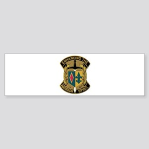 Army - DUI - 1st MEB - No Text Sticker (Bumper)