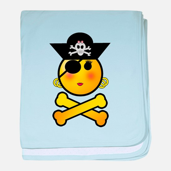 Pirate Day baby blanket