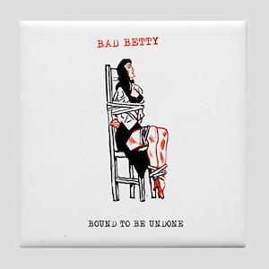 Bad Betty Tile Coaster
