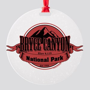 bryce canyon 4 Round Ornament