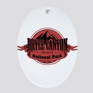 bryce canyon 4 Ornament (Oval)