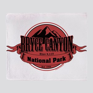 bryce canyon 4 Throw Blanket