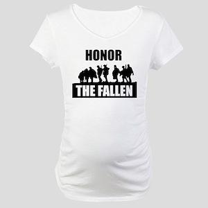 HONOR THE FALLEN Maternity T-Shirt