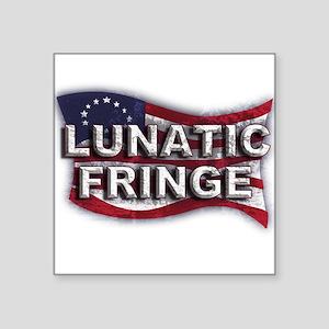 Lunatic Fringe Flag (sc) Sticker