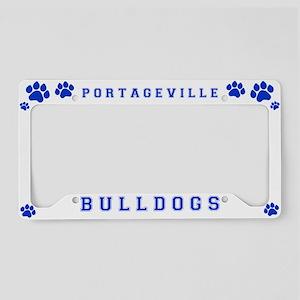 Portageville Bulldogs License Plate Cover License
