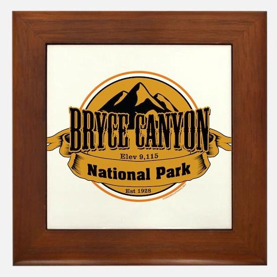 bryce canyon 4 Framed Tile