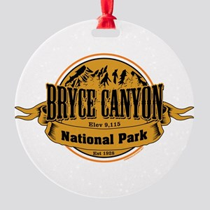 bryce canyon 2 Round Ornament