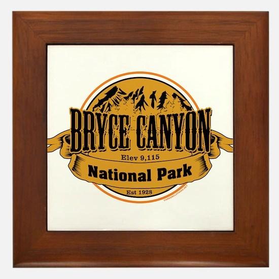 bryce canyon 2 Framed Tile