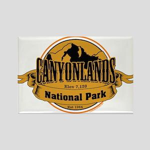 canyonlands 3 Rectangle Magnet