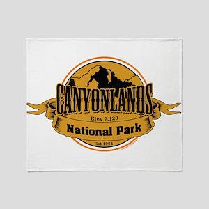 canyonlands 3 Throw Blanket
