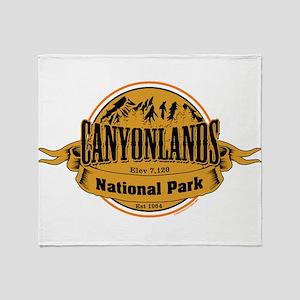 canyonlands 2 Throw Blanket