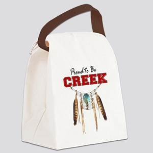 Proud to be Creek Canvas Lunch Bag