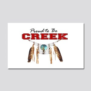 Proud to be Creek Car Magnet 20 x 12