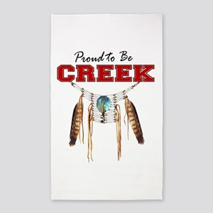 Proud to be Creek 3'x5' Area Rug