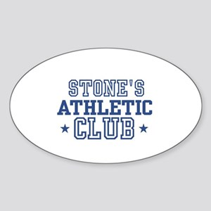 Stone Oval Sticker