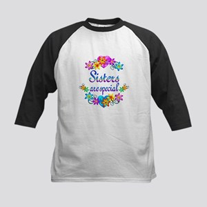 Sisters are Special Kids Baseball Jersey