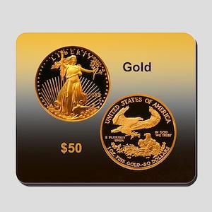 American Eagle Gold $50 Mousepad