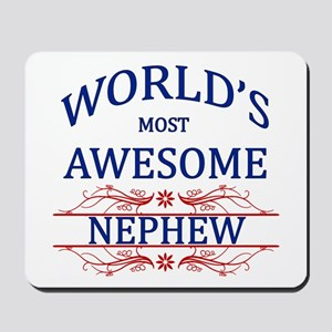 World's Most Awesome Nephew Mousepad