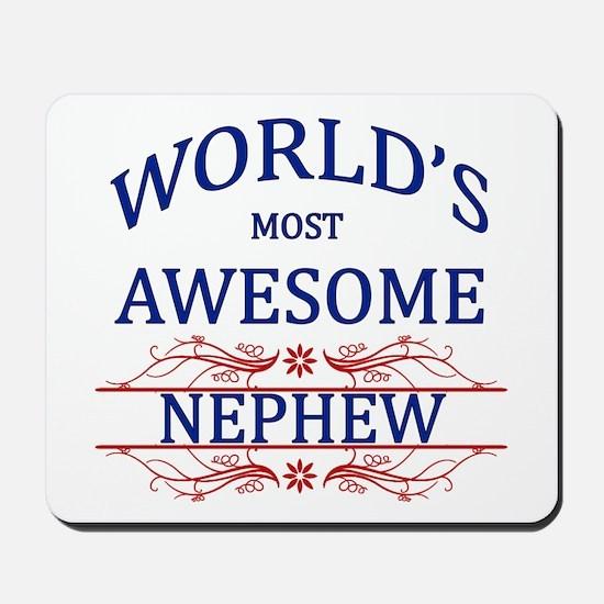 World's Most Awesome Nephew Mousepad