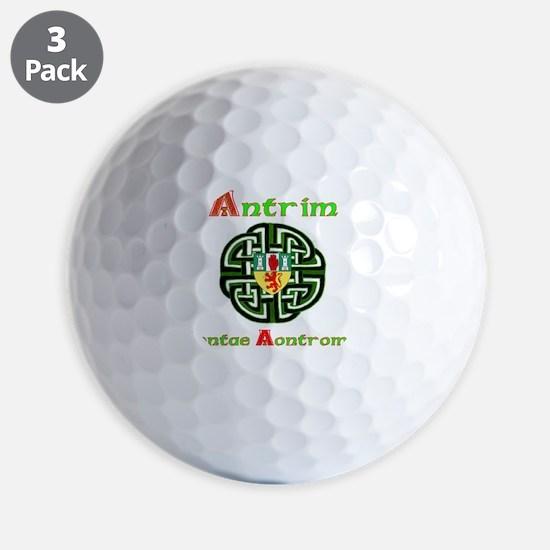Antrim,wheel,Arms.png Golf Ball