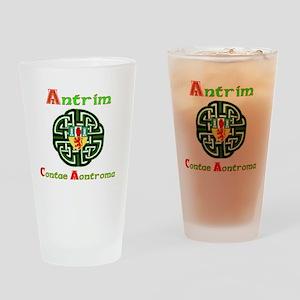 Antrim,wheel,Arms Drinking Glass