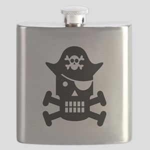 Pirate Day Flask