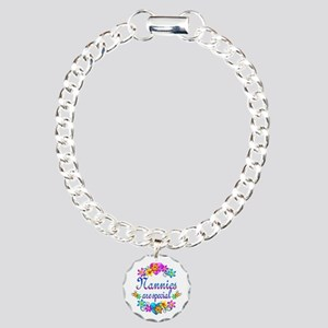 Nannies are Special Charm Bracelet, One Charm
