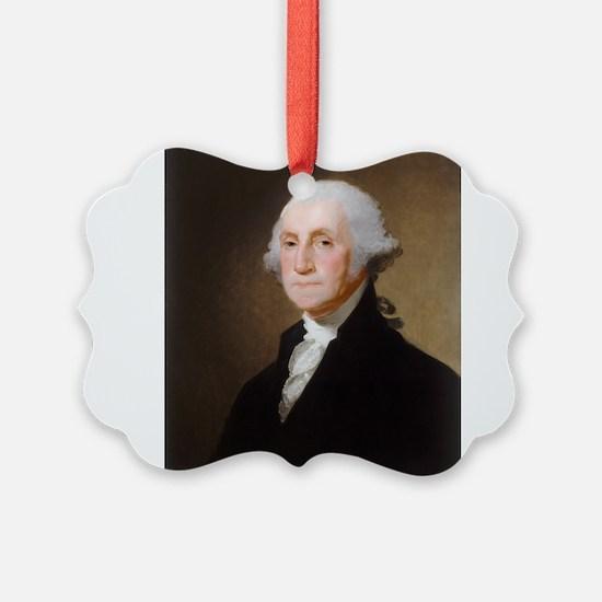 Gilbert Stuart - George Washington (2) Ornament