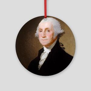 Gilbert Stuart - George Washington (2) Ornament (R
