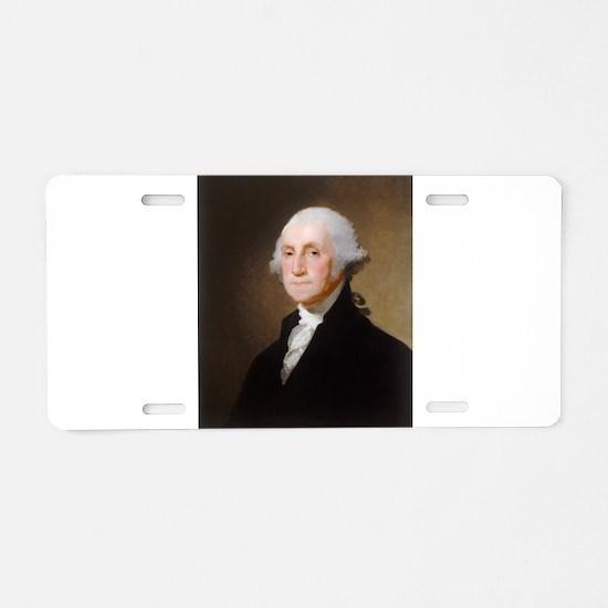 Gilbert Stuart - George Washington (2) Aluminum Li
