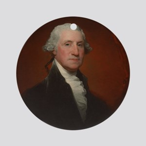 Gilbert Stuart - George Washington Ornament (Round