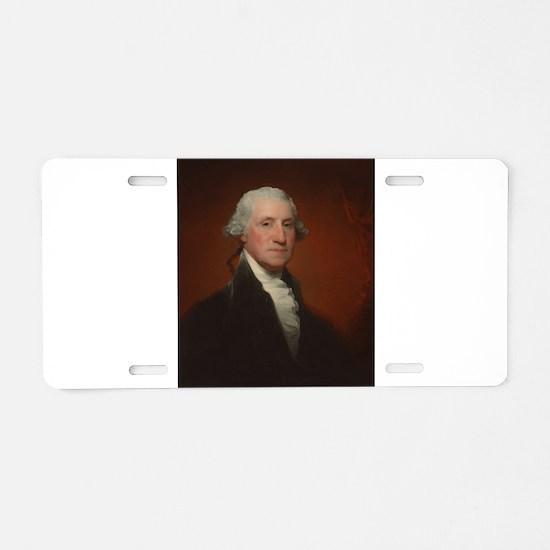 Gilbert Stuart - George Washington Aluminum Licens