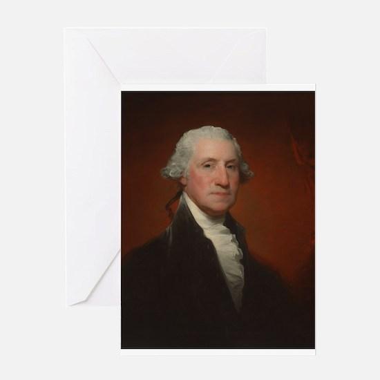 Gilbert Stuart - George Washington Greeting Card