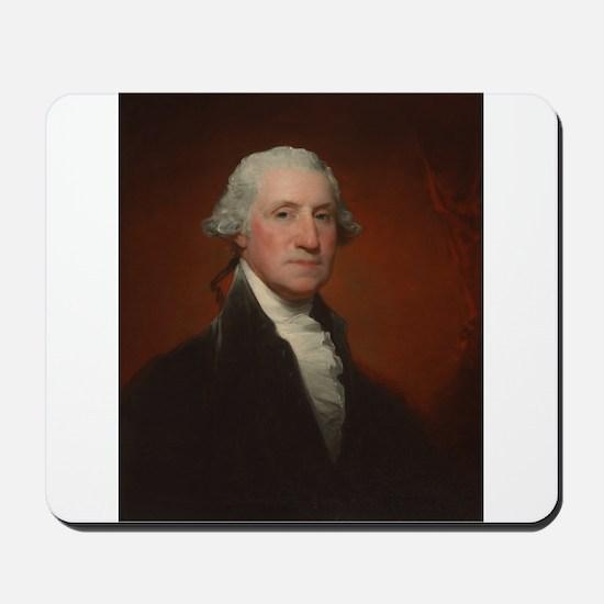 Gilbert Stuart - George Washington Mousepad