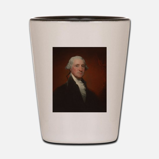 Gilbert Stuart - George Washington Shot Glass