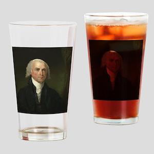 Gilbert Stuart - James Madison Drinking Glass