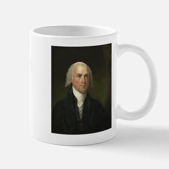 Gilbert Stuart - James Madison Mug