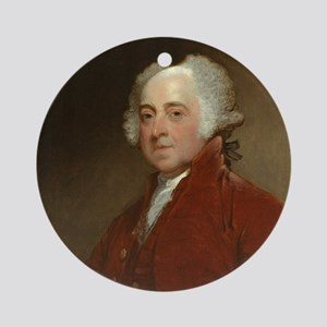 Gilbert Stuart - John Adams Ornament (Round)