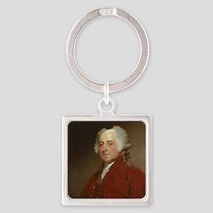 Gilbert Stuart - John Adams Keychains