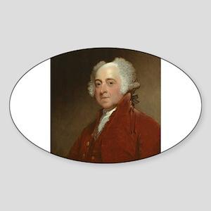 Gilbert Stuart - John Adams Sticker