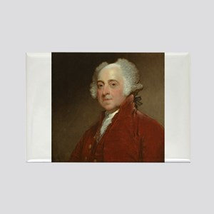Gilbert Stuart - John Adams Rectangle Magnet