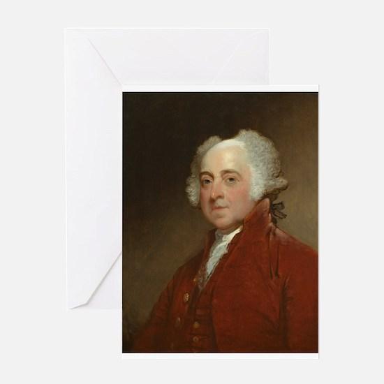 Gilbert Stuart - John Adams Greeting Card