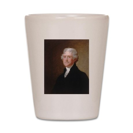 Gilbert Stuart - Thomas Jefferson Shot Glass