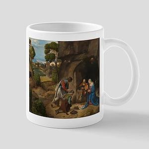 Giorgione - The Adoration of the Shepherds Mug