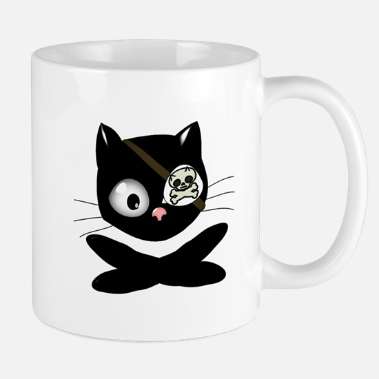 Pirate Kitty Mug