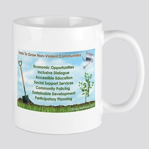 Tools to Grow Non-Violent Communities Small Mugs