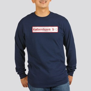 Roadmarker, Copenhagen - Denmark Long Sleeve Dark